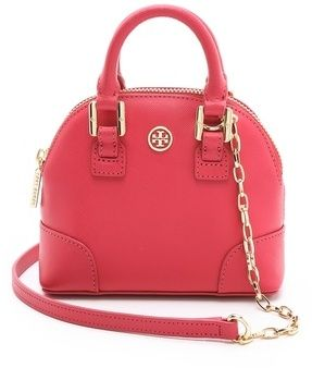 57b62365a Tory burch Robinson Shrunken Dome Tote on shopstyle.com | Handbags ...