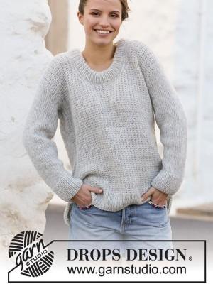 Grey Pearl DROPS 210 36 Free knitting patterns