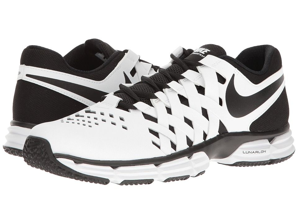 newest b1756 66ed0 Nike Lunar Fingertrap TR (White/Black) Men's Shoes | Shoes Nike ...