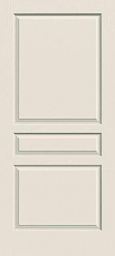 """6'8"""" 3-Panel Molded Interior Door Slab"""
