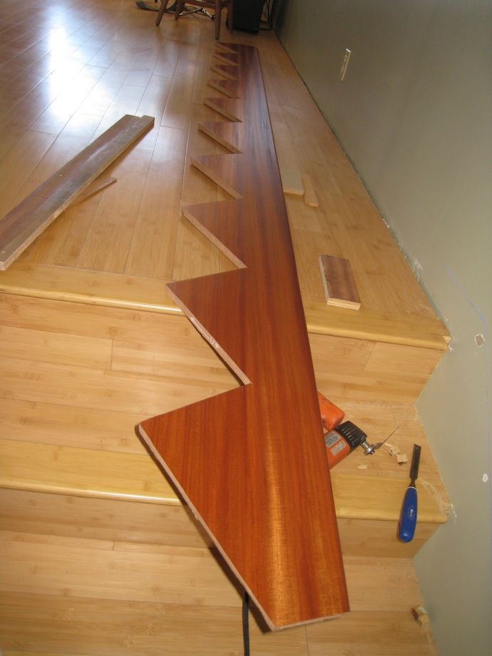 Good Tutorial For Scribing Skirt Boards Thisiscarpentry