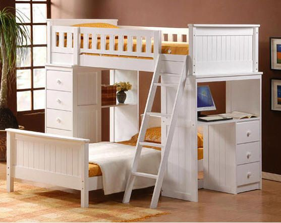 Kohler Student Loft Bed Kid s Rooms and Play Spaces