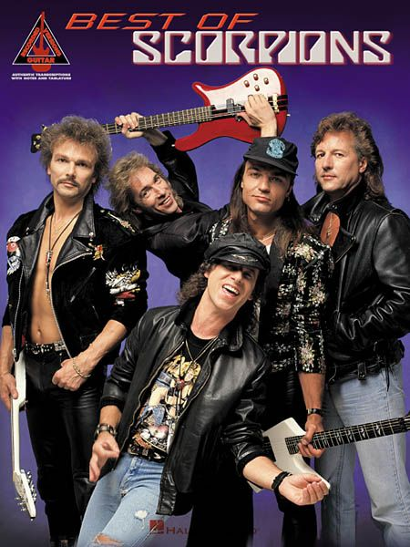 Rock Bands And Names Scorpions Bandas De Heavy Metal