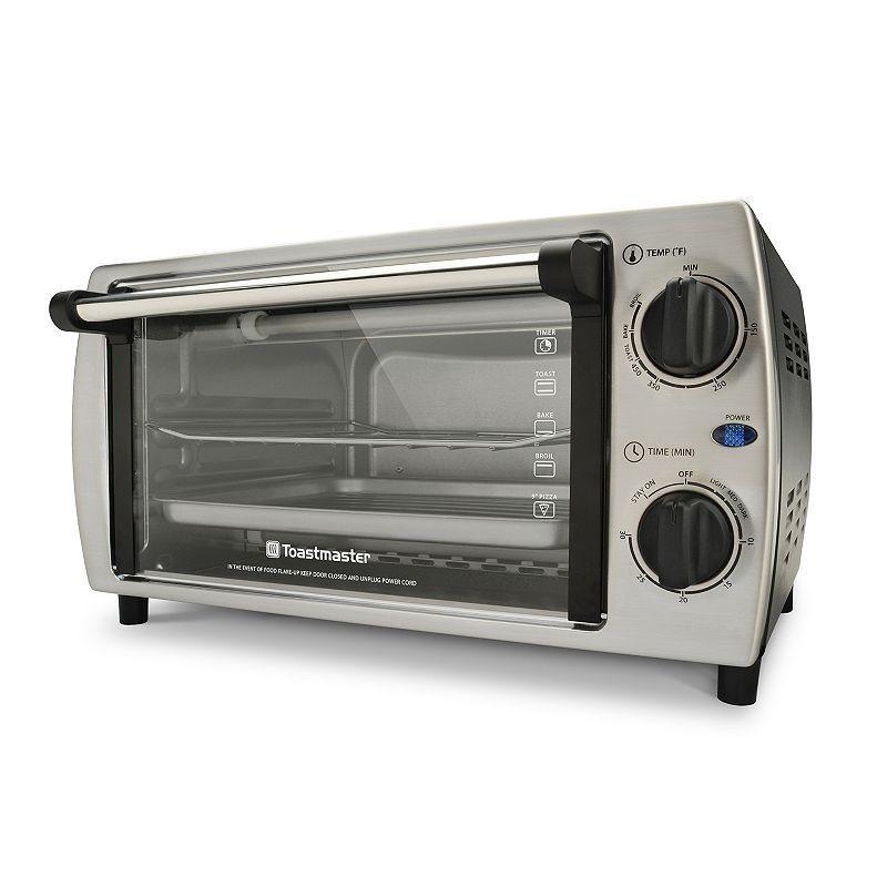 Toastmaster 4 Slice Bake Broil Amp Toast Stainless Steel
