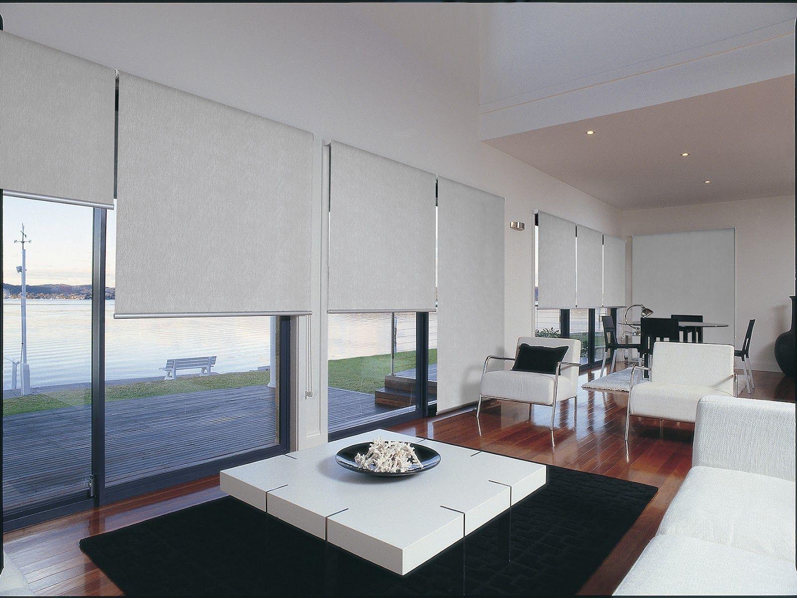 Modern Window Blinds - Cortinas roller decorartehogar un toque especial en cada ambiente www decorartehogar com