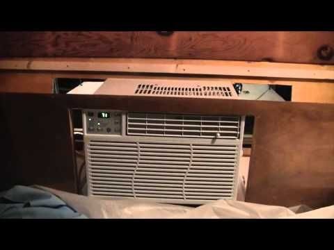 Vintage Camper Restoration - Air Conditioner - YouTube