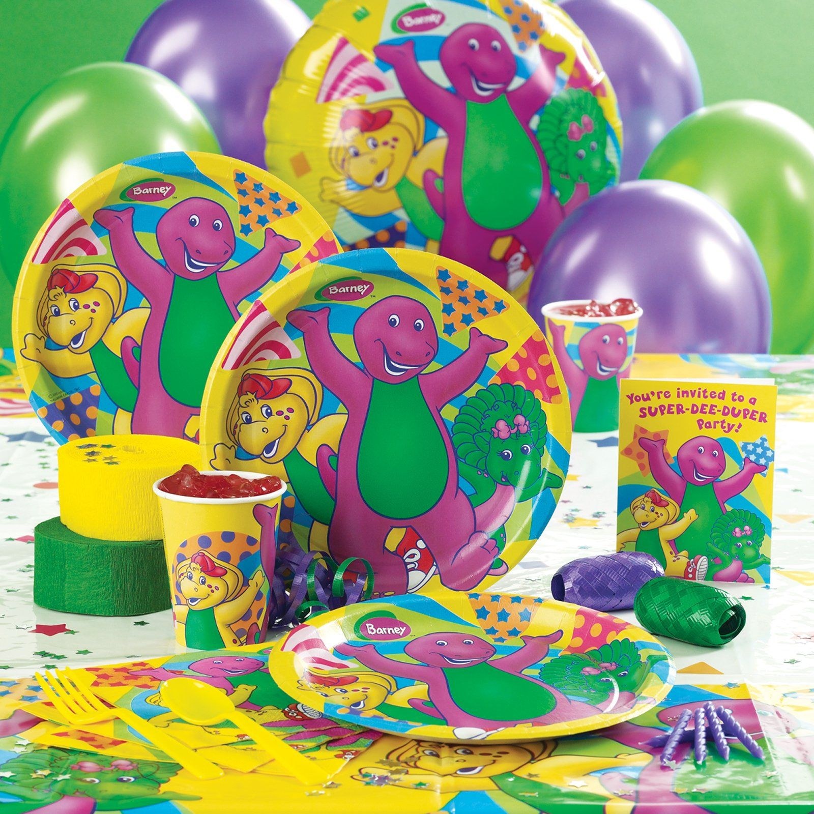 2 Year Birthday Themes Barney Friends Theme Kids Birthday Party Ideas Pinterest