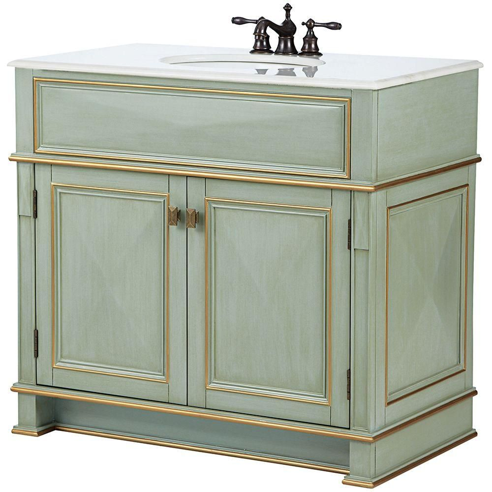 home decorators collection dinsmore 38 in w vanity in on home depot vanity id=67790