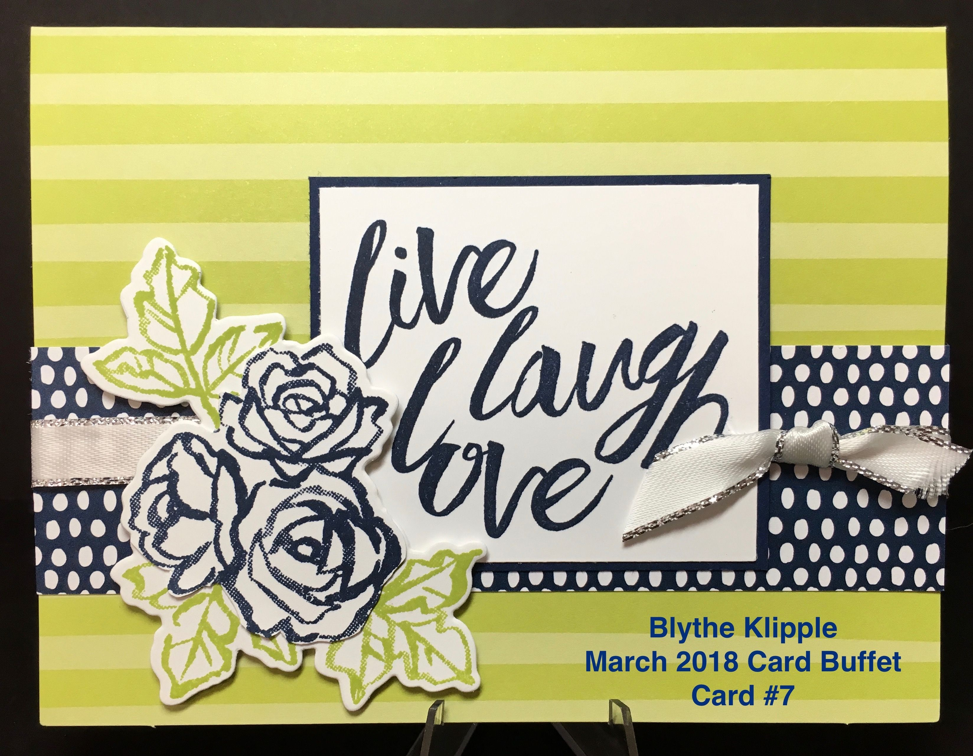 Card Making Ideas 2018 Part - 44: Blytheu0027s Card Buffet, March 2018 - Stamping With Blythe
