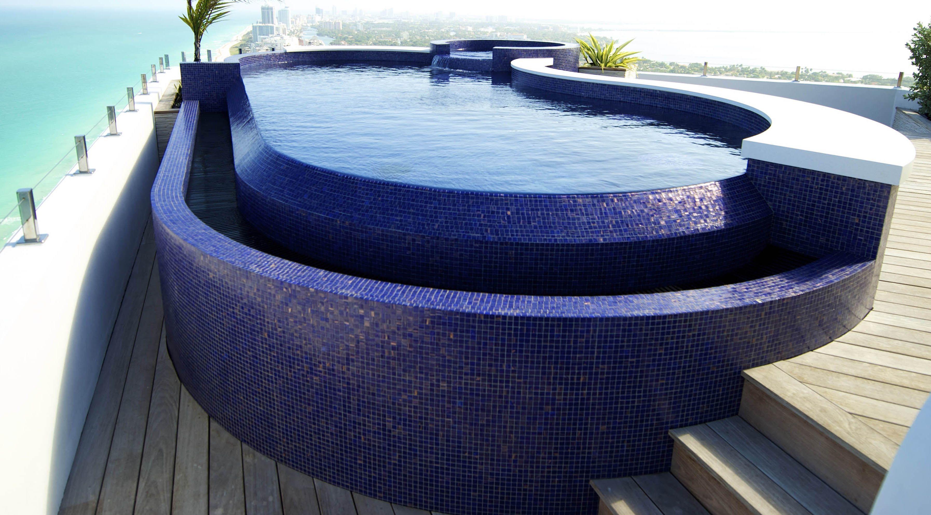Rooftop Stainless Steel Pool For Residence Pool Pool