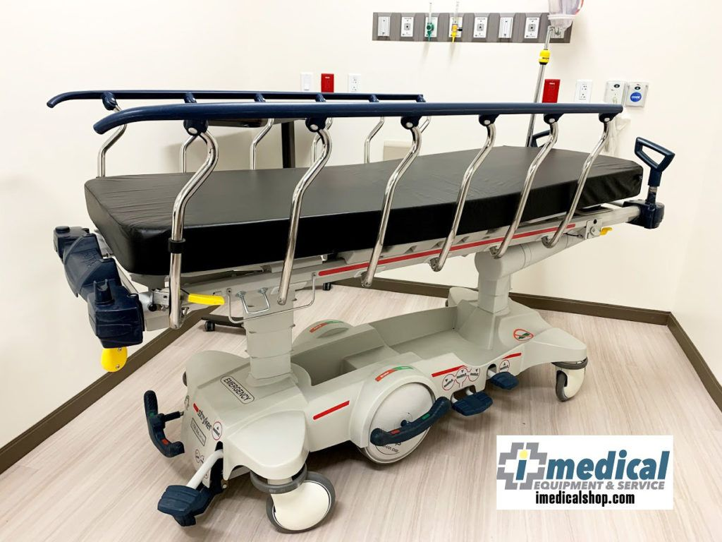 Stryker 1015 M Series Big Wheel Stretcher (With images