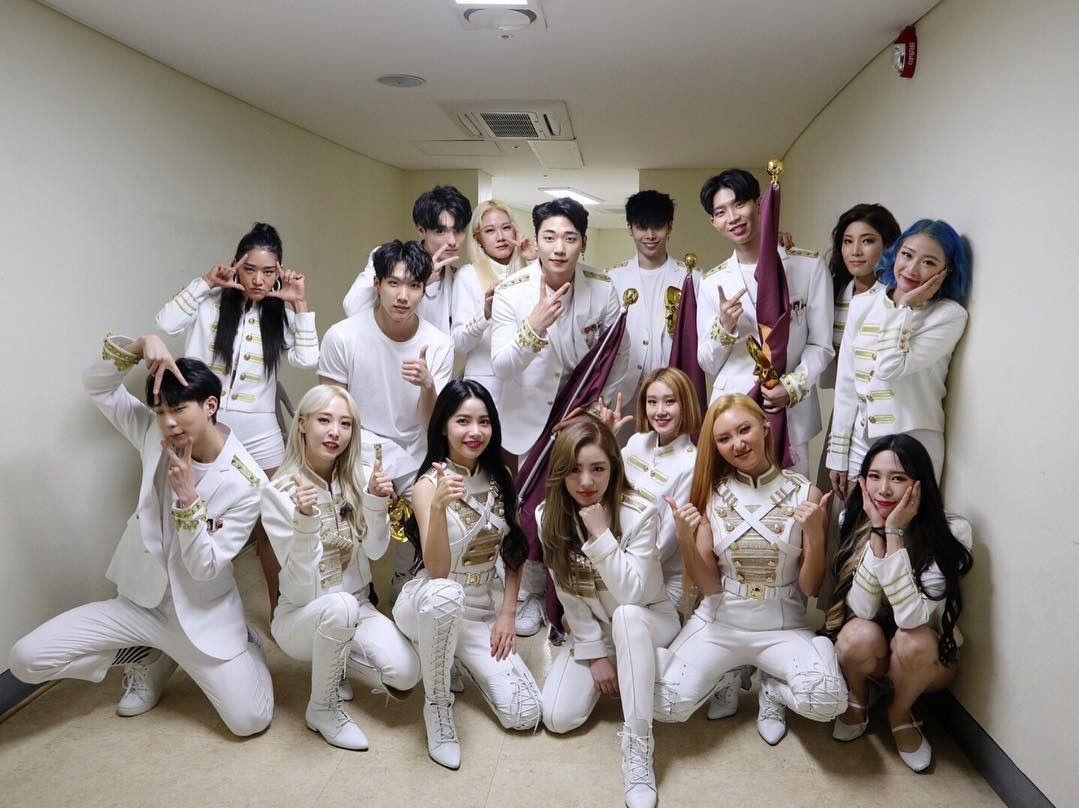Mamamoo X Backup Dancers Ig Horangz Mamamoo Soul Music Solo Performance