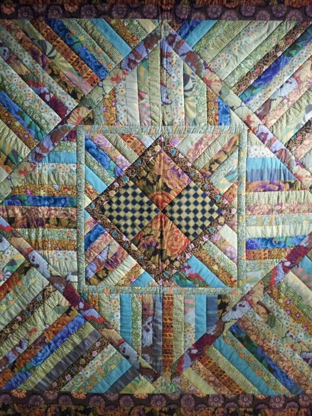 Kaffe Fassett Quilt I Love This And Love The Lines