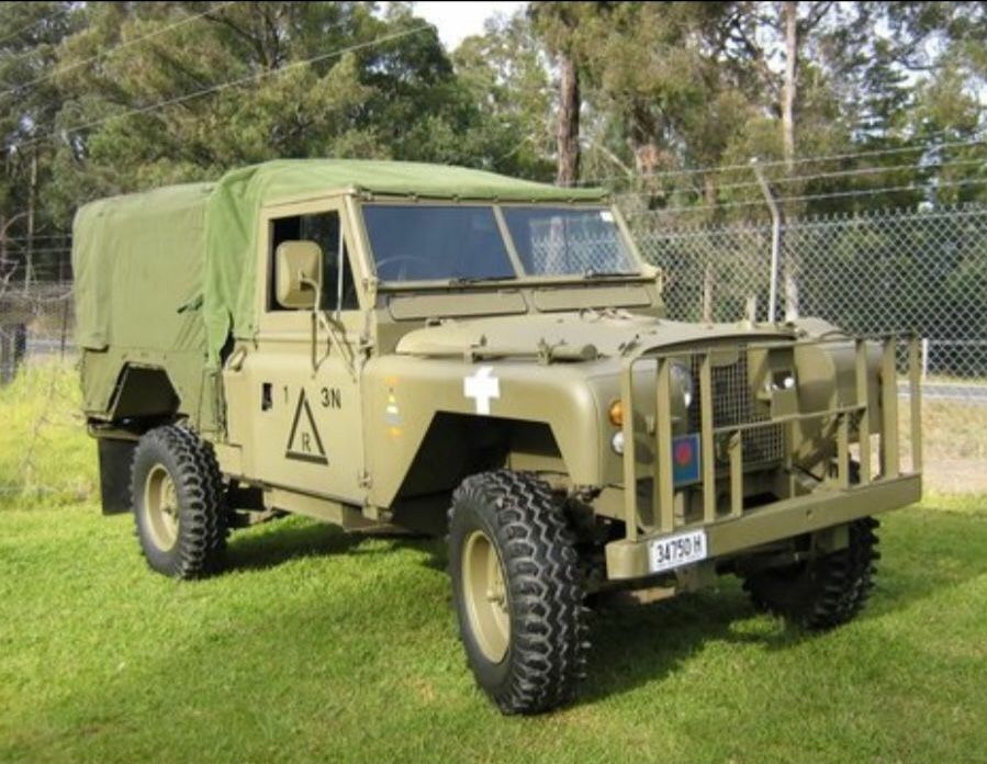 Land Rover Land Rover Military Jeep Overland Vehicles