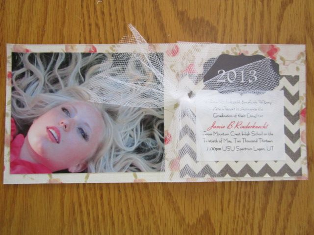 2013 graduation announcements