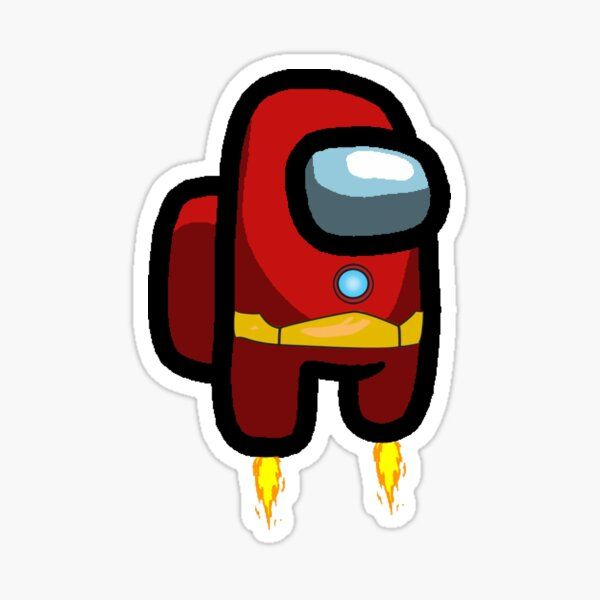 Super Man Among us Sticker