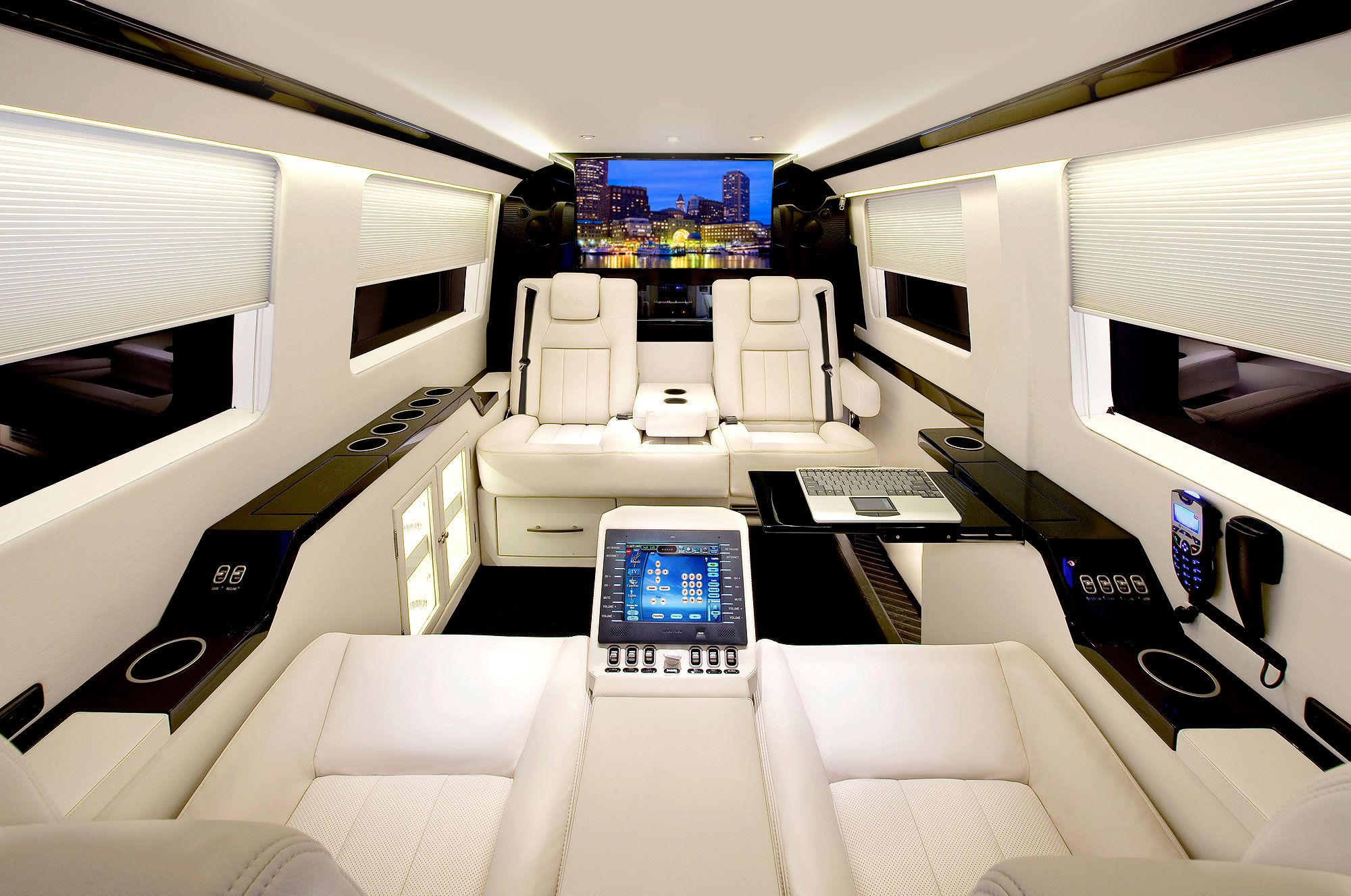 The Interior Of The Amazing Sprinter Jetvan Corporate Luxury Coach Available Through Mercedes