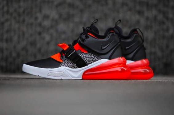 new product df258 ce458 A Closer Look At The Upcoming Nike Air Force 270 Safari A Nike Air Max 270