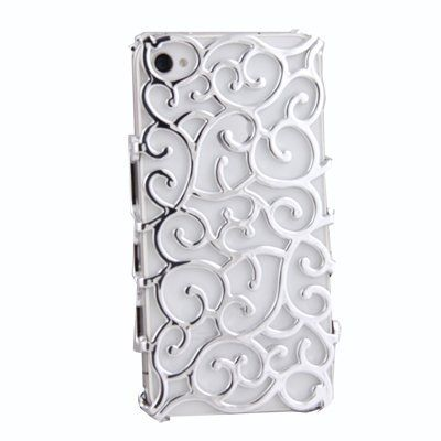 Electroplating Hollow Pattern PC Case Hard Back Cover for