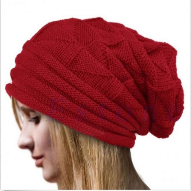 a0cc4a26ace The Baggy Beanie. HIRIGIN Newest Hot Men Women Knit Oversize Baggy Slouchy  Beanie Warm Winter Hat Ski Chic Cap