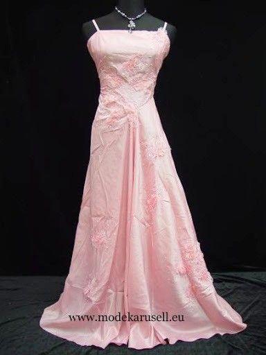 Abendkleid Brautkleid Eva-Maria in Rosa in 2019 ...