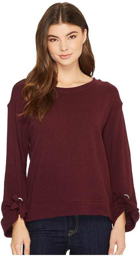 Splendid Grommet Sweatshirt Women s Sweatshirt  4ff2dfa7c8