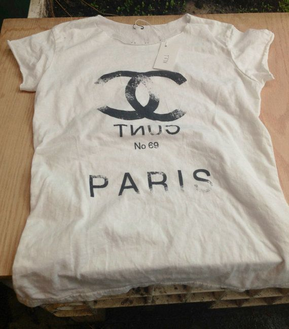 Chanel no 69 tee by ShopKult