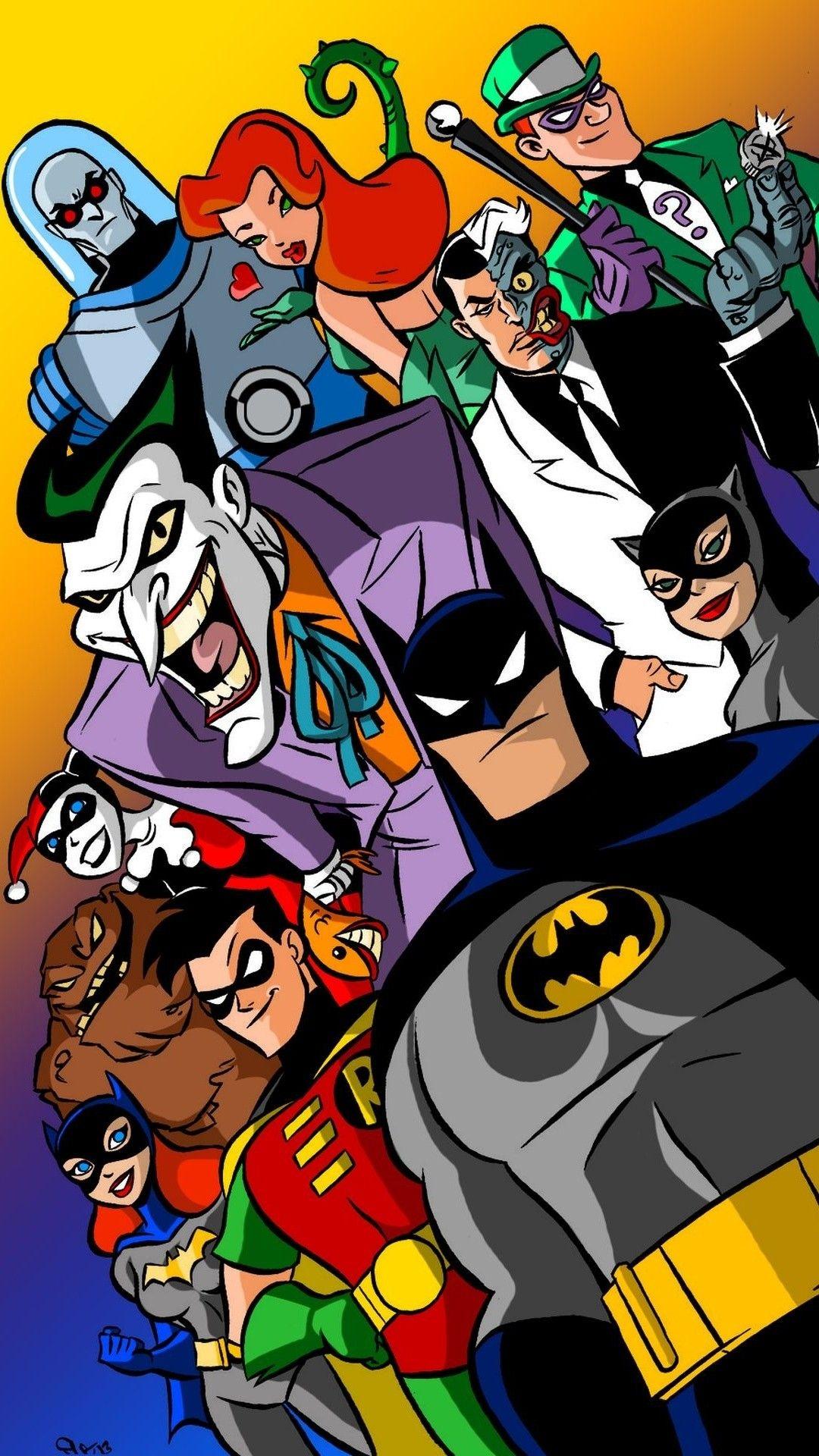 Resultado De Imagem Para 90s Wallpaper Iphone Batman Cartoon Joker Animated Cartoon Wallpaper
