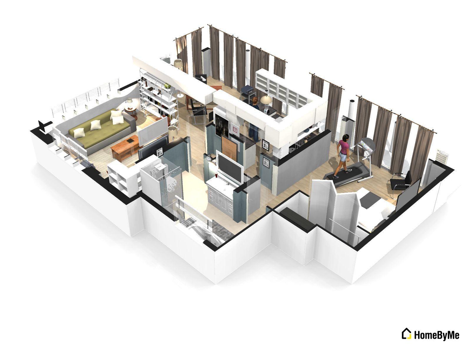 planos de casas homebyme