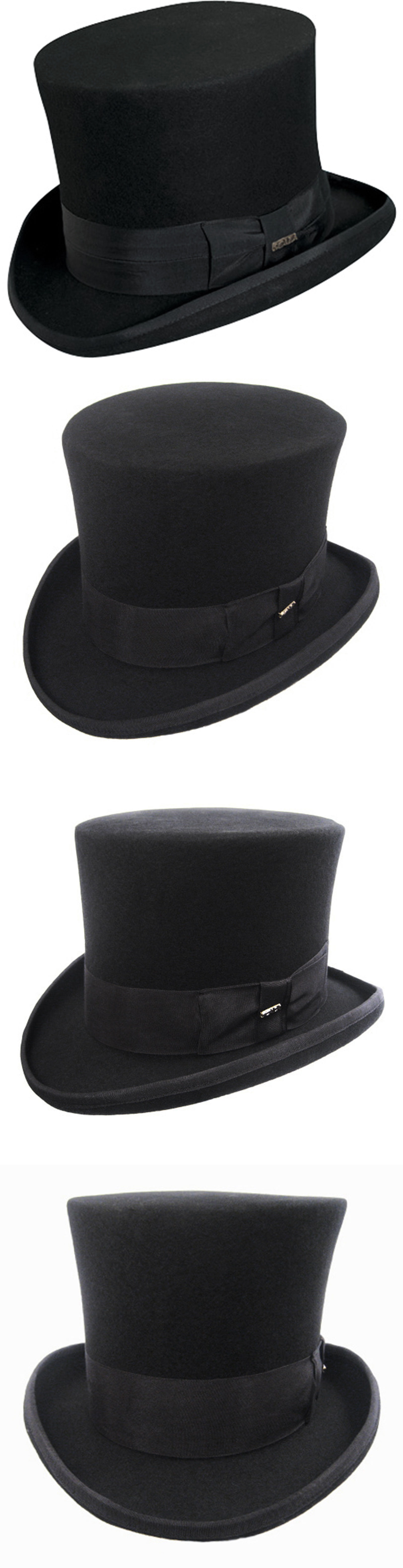 Hats and Headgear 155349  7 Inch Wool Top Hat Steampunk Monopoly Man  Victorian Dickens Mad Hatter Black -  BUY IT NOW ONLY   50.96 on eBay! da309575ff78