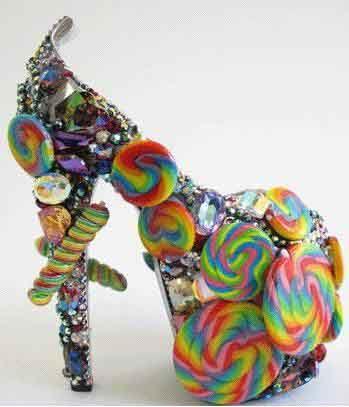 crazy shoes for women | Gasoline Lollypop Crazy Shoe