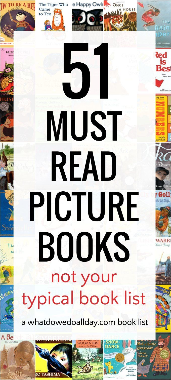 51 Out of the Box Must Read Picture Books | What Do We Do