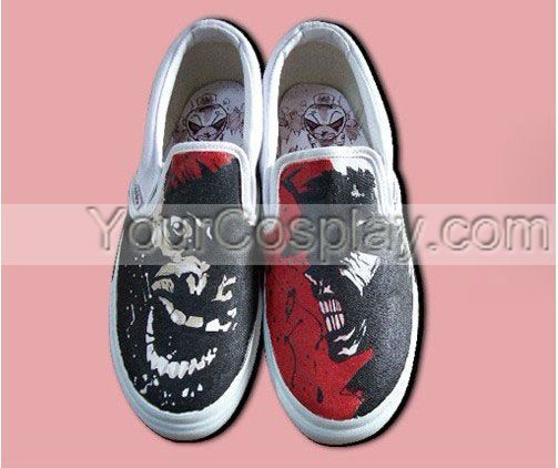 Perfect gift! Hand Drawing Custom Shoes Custom-038, New Arrival Hand Drawing Shoes, Cosplay Hand Drawing Shoes