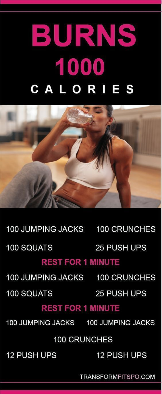 Burn 1000 calories at home now! Click the link for a 12 week home workout guide. Doing this will actually burn 1000 calories but it seems like a pretty intense workout