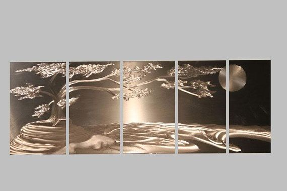 Beautiful piece... makes me think of Japan Metal Wall Art Abstract Decor Contemporary & Beautiful piece... makes me think of Japan Metal Wall Art Abstract ...