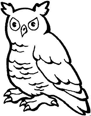 Eulen zum Ausmalen | owls | Pinterest | Ausmalen, Eule und Ausmalbilder