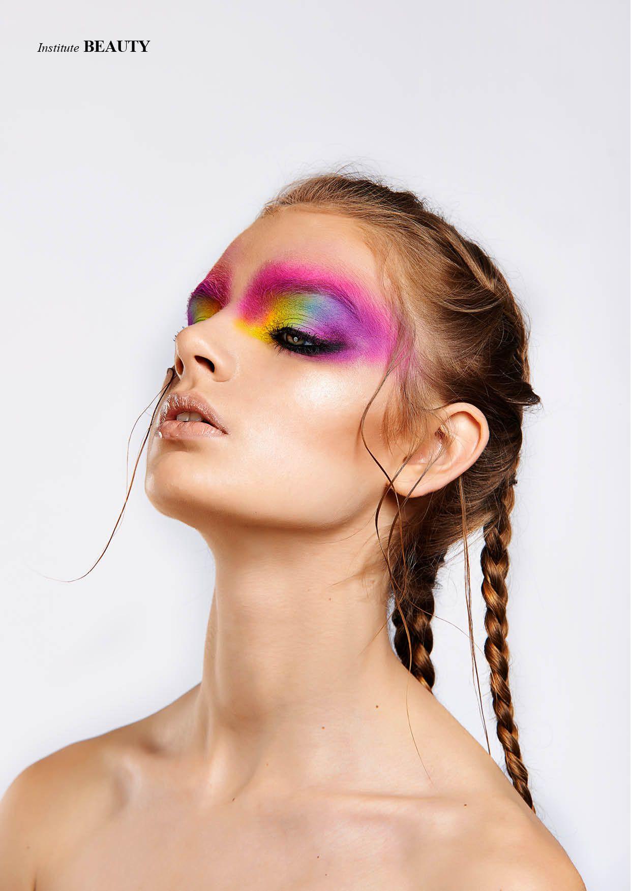 Mystique - Photographed by Rubén Suárez Make Up Artist Igor Losada Model Barbara Roskosa / UNO Models