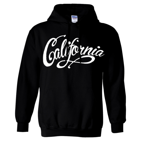 California Beach Script Sweatshirt Hoodie Sweatshirts