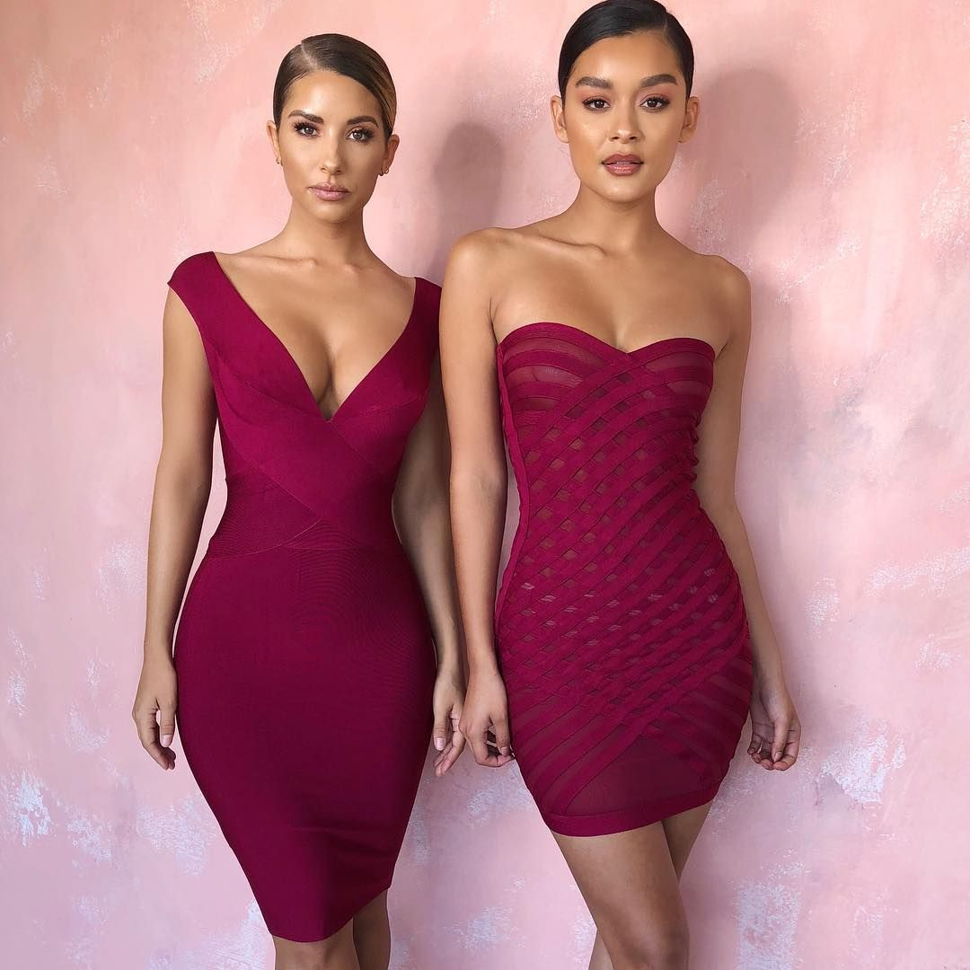 7dab9cf8011 Which dress do you prefer left (Ginevra) or right (Azani)  Shop   houseofcb.com