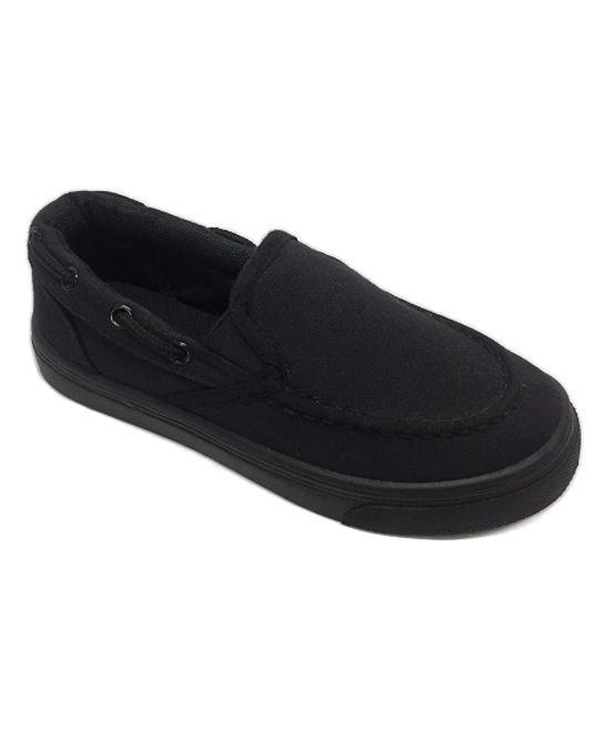 Black Joy Slip-On Sneaker