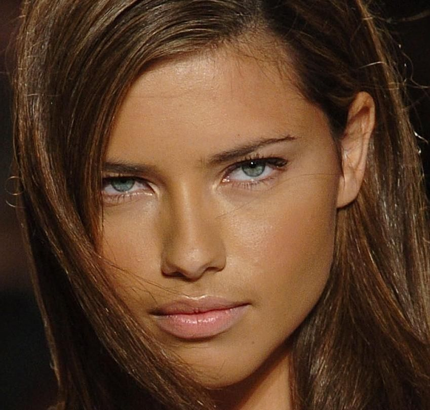 Hair Color My Style Pinterest Adriana Lima Lima And Makeup