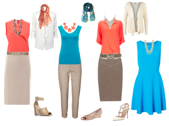 Check out a few clothing rules that support a professional look for summer temperatures.  http://powerful-presence.com/article/professionalism/how-to-look-professional-in-the-heat.html