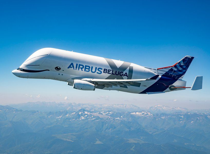 A Whale In The Sky The Airbus Beluga Xl Takes Its Maiden Flight