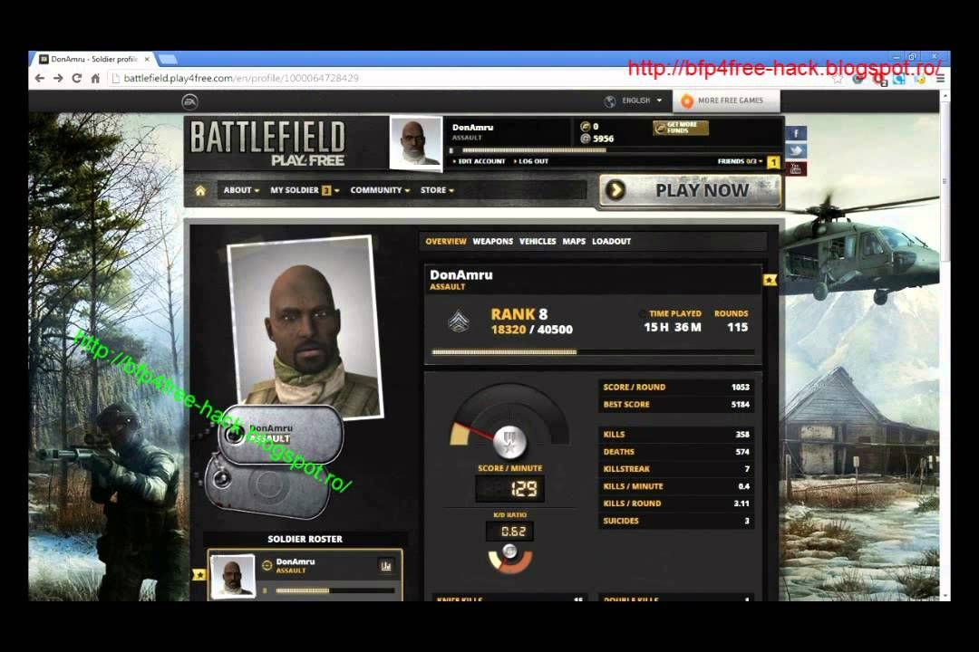 Best Battlefield Play4free Hack Right Here Youtube Games Hacks
