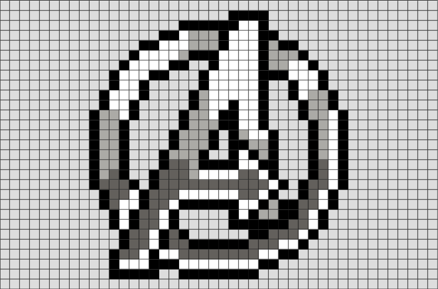 Pin by BRIK on Brik Pixel Art Designs | Pixel art grid