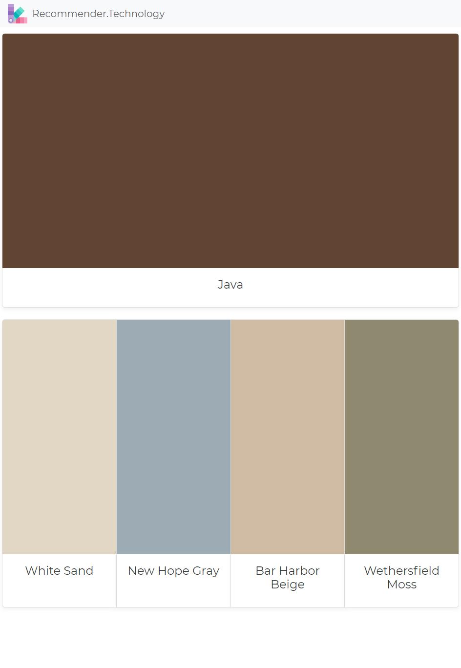 Beach House Color Schemes Interior