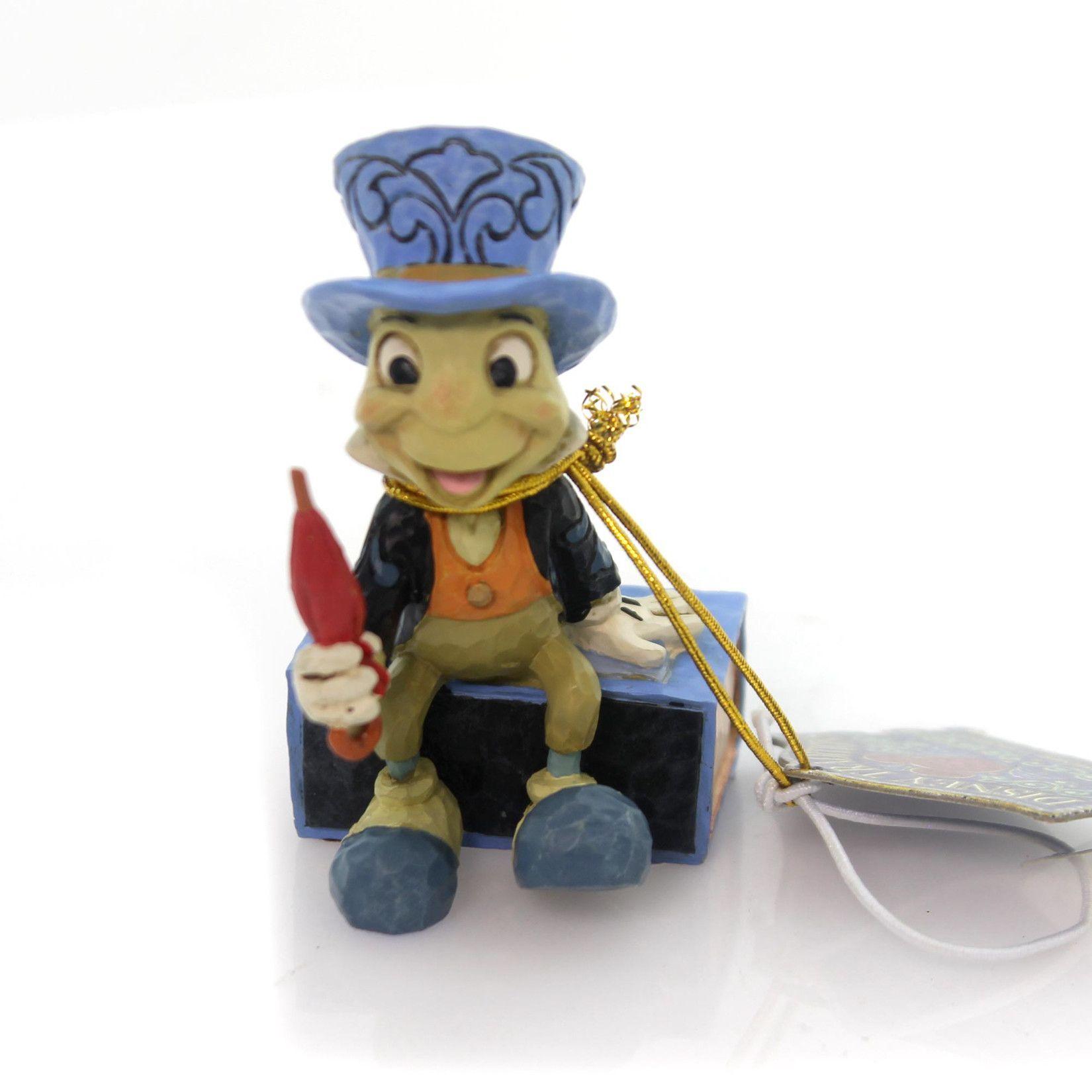 Jim Shore Jiminy Cricket On A Match Box Figurine Jiminy Cricket Cricket Crafts Sand Crafts