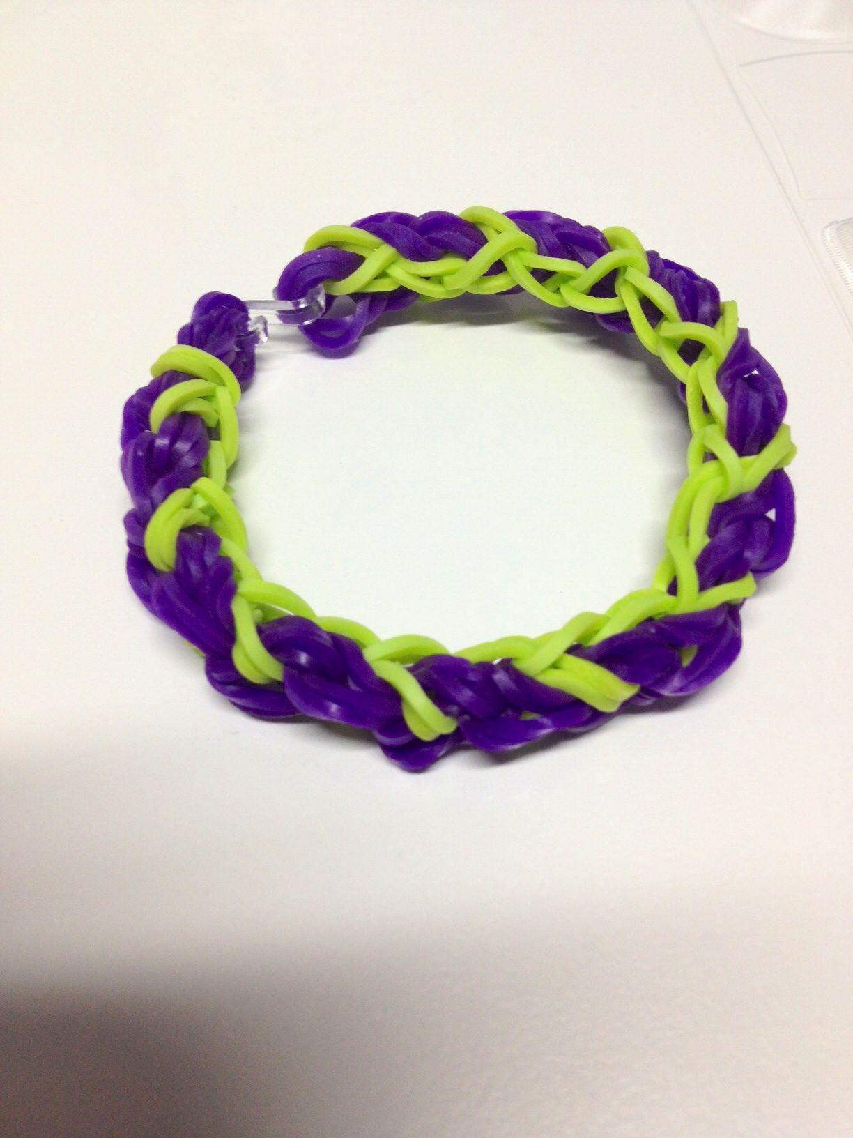 Valentine Bracelets Justin Toys : Over and under bracelet by justin s toys my rainbow