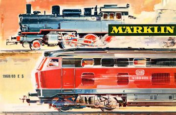 Marklin Catalogus 1968 Marklin Eisenbahn Modellbahn