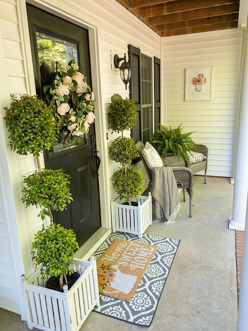 Spring Porch Decorating Tips Spring Porch Decor Spring Porch Front Porch Decorating